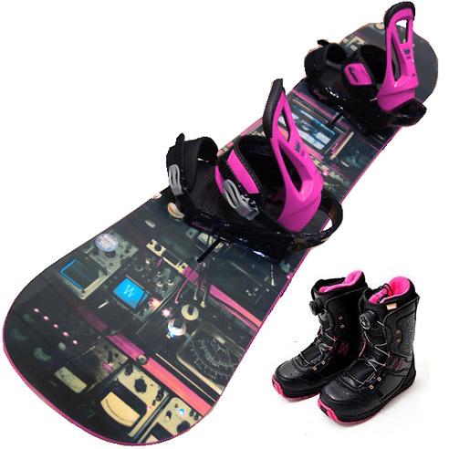 レンタルスノーボードはボード・ブーツの2点セットが基本