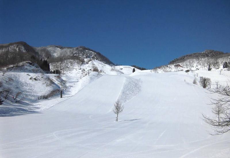 兵庫県北部にある「おじろスキー場」