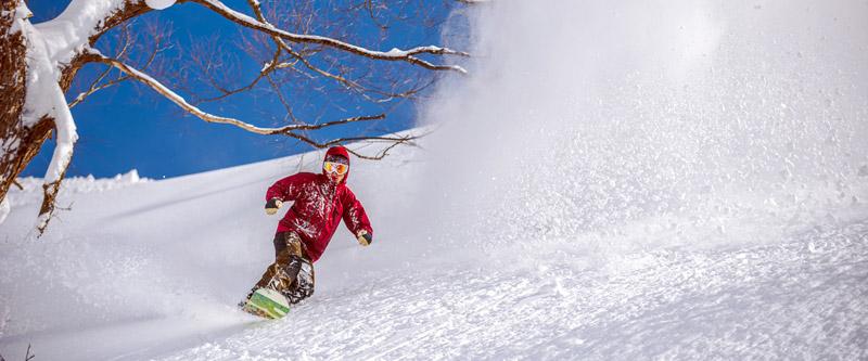 戸狩温泉スキー場なら中・上級者も期待できます。