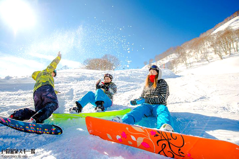 スノボ・スキーで痩せる?